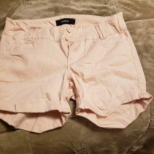 Torrid khaki shorts 12 pale pink